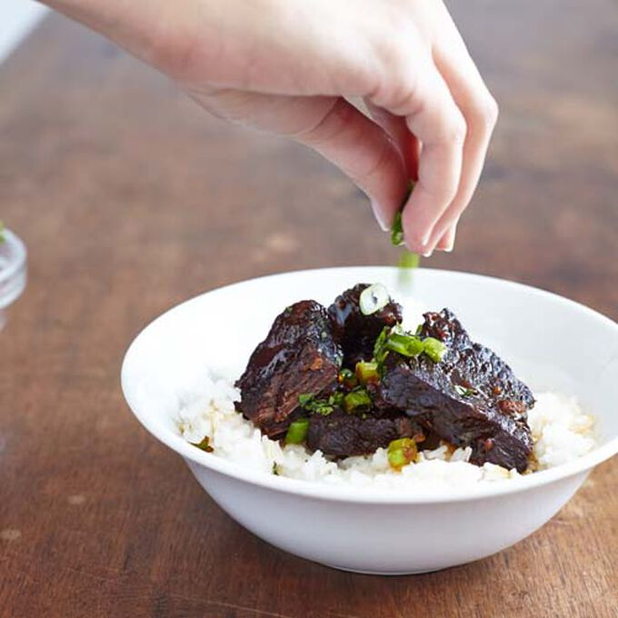 Asian Style Boneless Beef Short Ribs