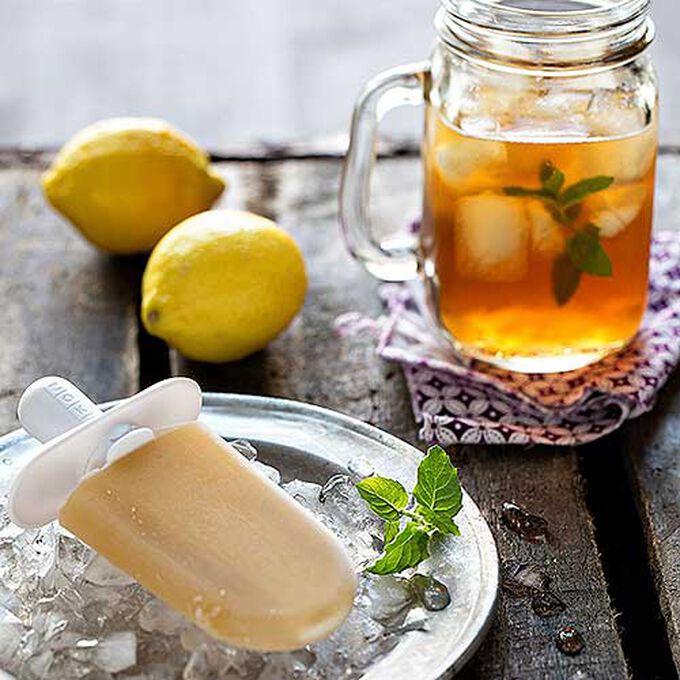 Iced Tea Pops with Lemon & Honey