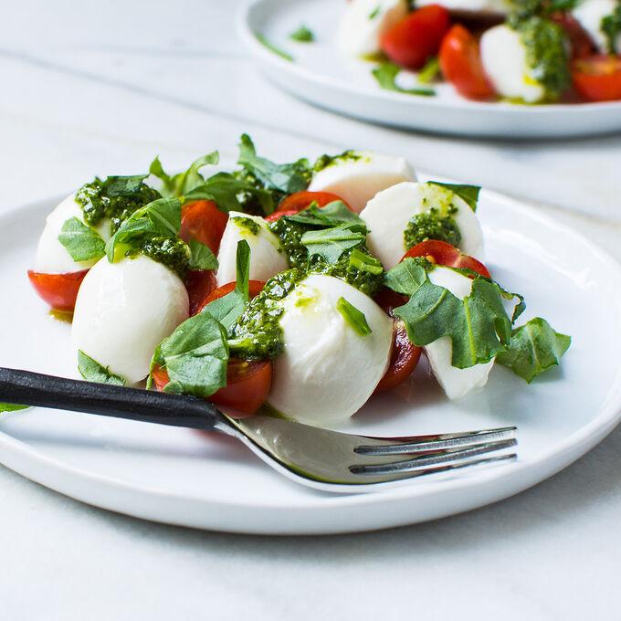 Mozzarella Pesto Salad