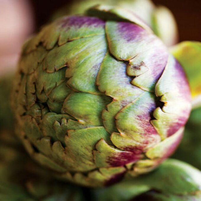 Stuffed Artichokes with Pine Nuts and Currants
