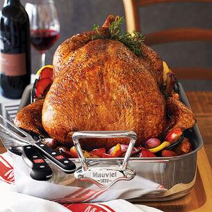 Roast Turkey with Black Truffle Butter