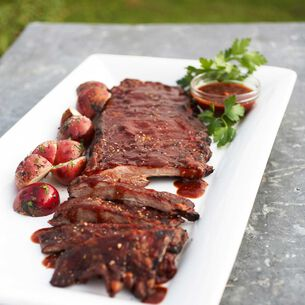 Chile-Glazed Baby Back Ribs