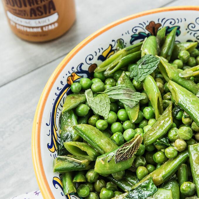Sautéed Spring Peas