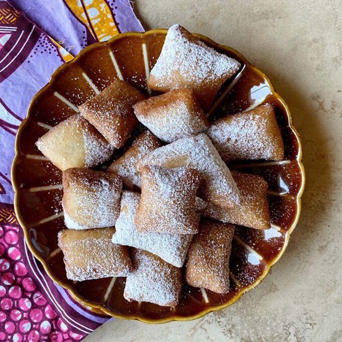Coconut & Cardamom Mandazi