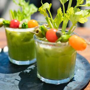 Green Tomato Bloody Mary