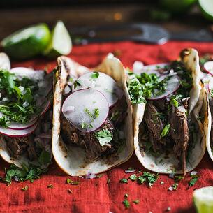 Shredded Pork Soft Tacos