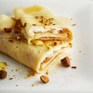 Caramelized Pear Crêpes