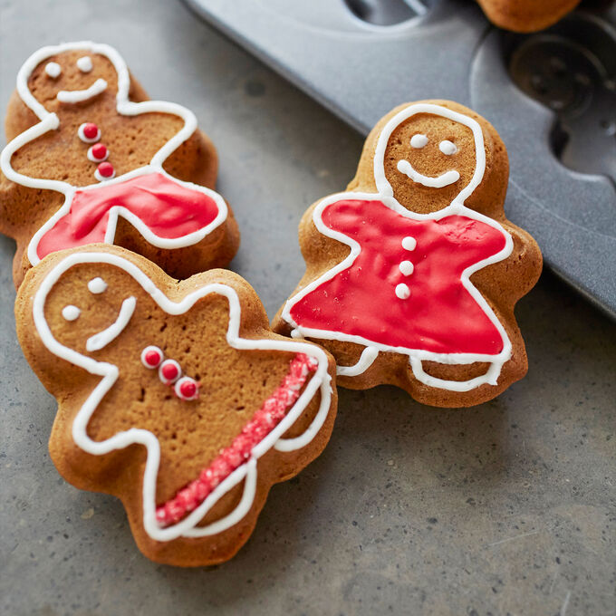 Gingerbread Press Sugar Cookies