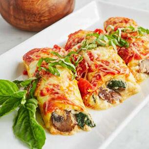 Zucchini Manicotti