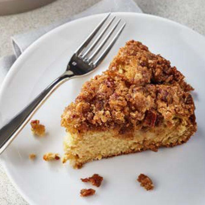 Apple Spiral Coffee Cake