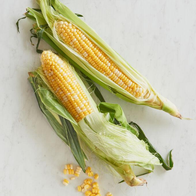Charred Corn Succotash