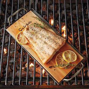 Grilled Fish with Charred Cherry Tomato and Sweet Corn Relish