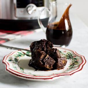Instant Pot Chocolate Espresso Brioche Bread Pudding