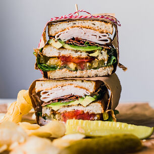 Ultimate Avocado BLT Club Sandwich
