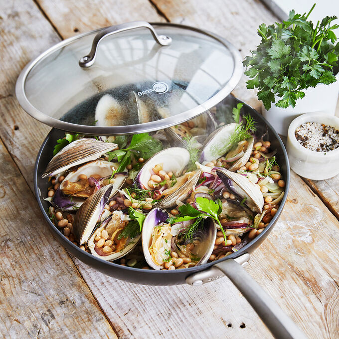 Clams and White Beans