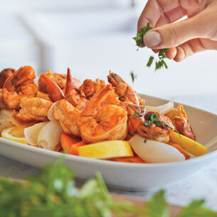 Cajun Style Steamed Shrimp