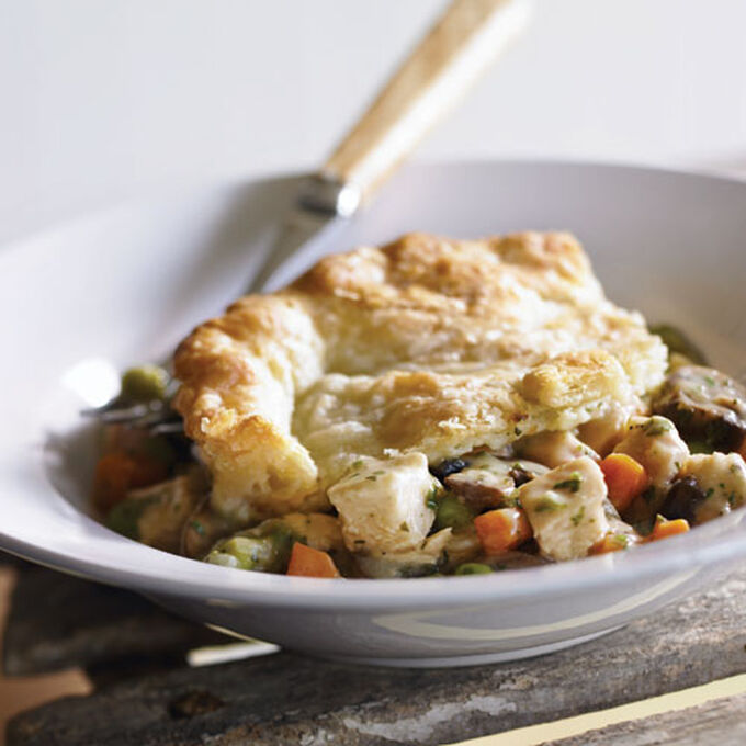 Herbed Chicken Pot Pie