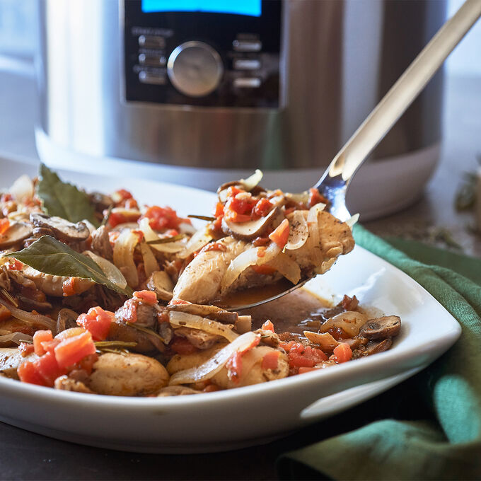 Chicken with Prosciutto and Mushrooms
