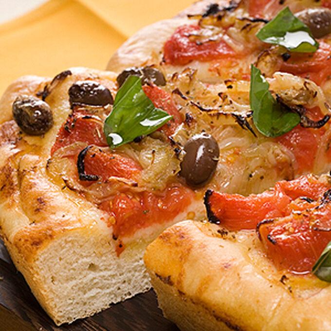 Pizza della Riviera di ponente (Piscialandrea) - Pizza Riviera di Ponente style