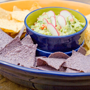 Mango and Chipotle Chile Guacamole