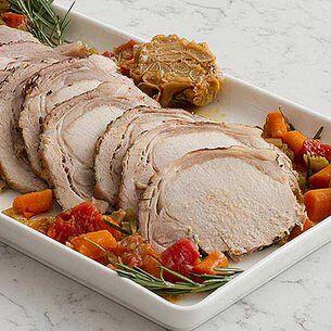 Dutch Oven Slow Roasted Pork Shoulder with Rosemary Garlic Marinade