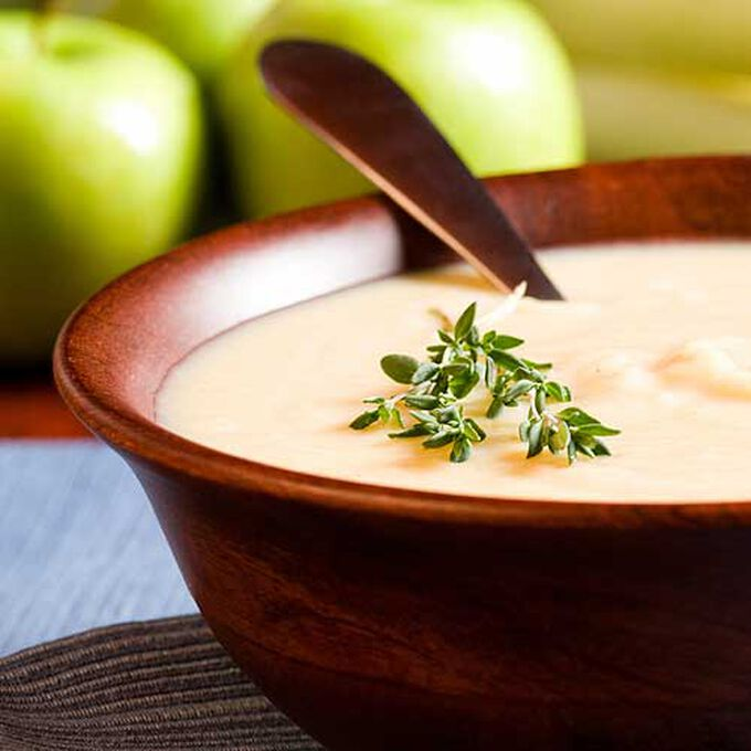 Irish Apple and Parsnip Soup
