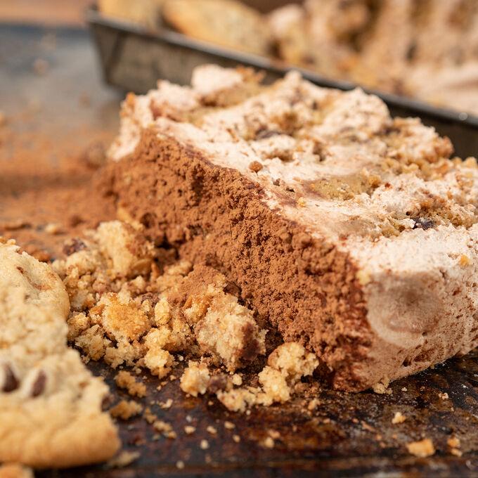 Stale Chocolate Chip Cookie Icebox Cake