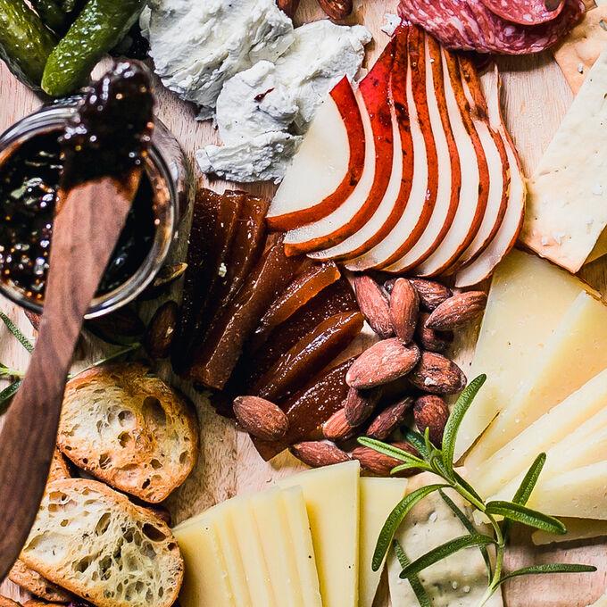 Fall-Inspired Cheese Board