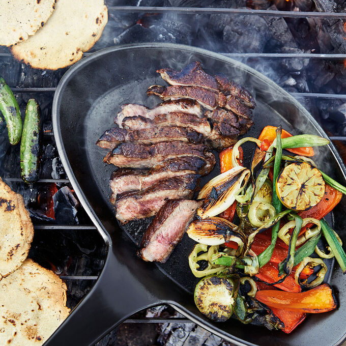 Grilled Steak Fajitas