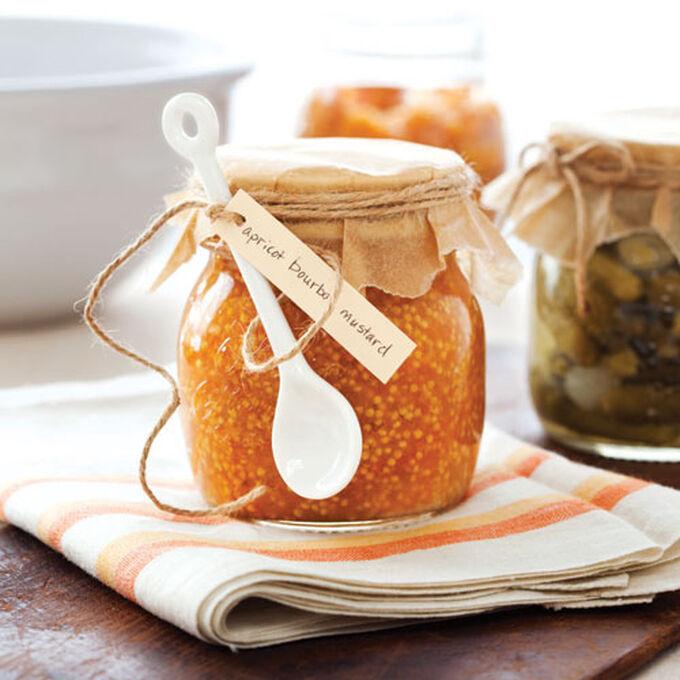 Apricot-Bourbon Mustard