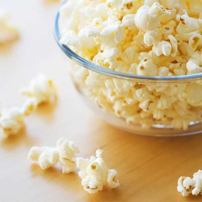 Sweet and Spicy Caramel Corn