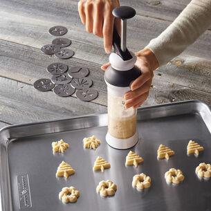 Cream Cheese Spritz Butter Cookies