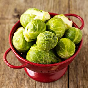 Steam-Grilled Brussels Sprouts with Honey, Parmesan and Almonds