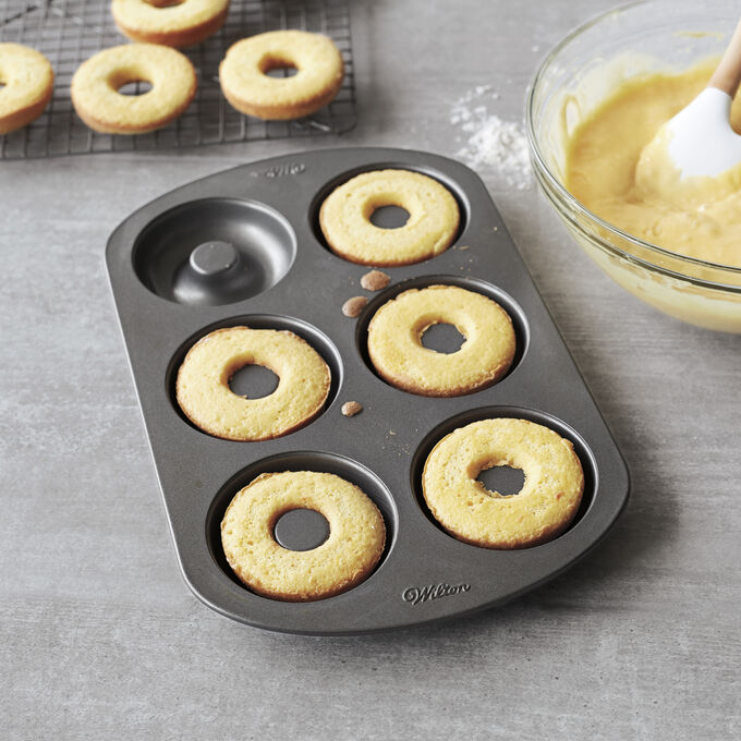 Baked Cake Doughnuts