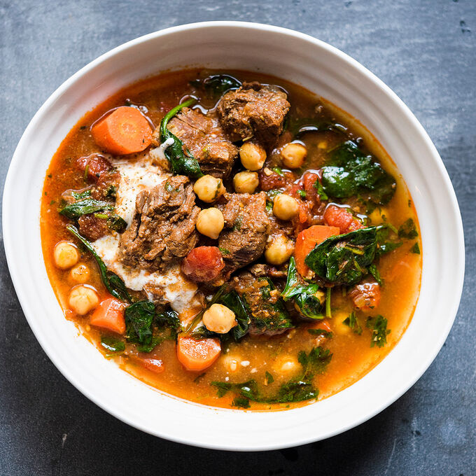 Beef and Chickpea Stew