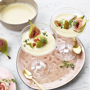 Figs with Champagne Sabayon