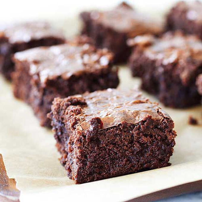 Slow Cooker Fudgy Chocolate Brownies