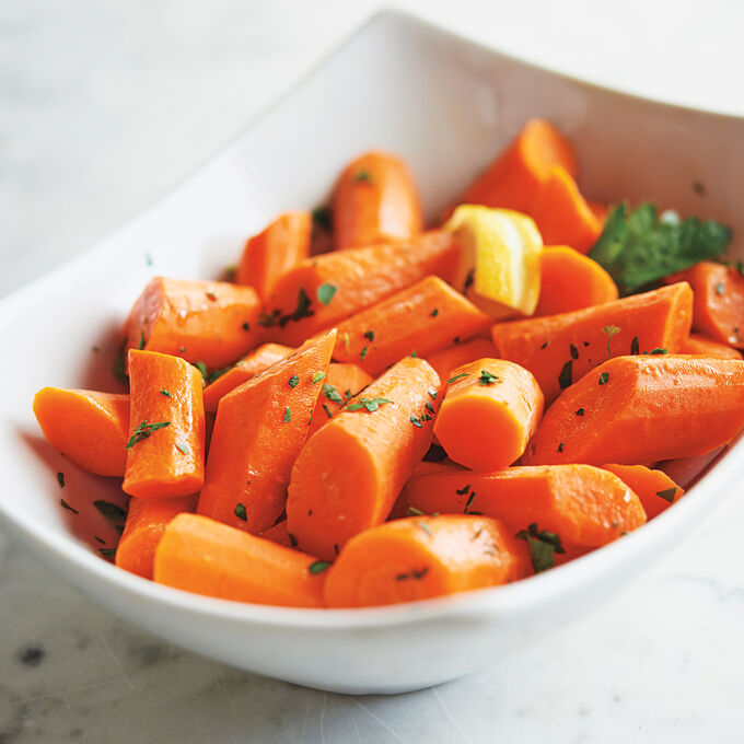 Carrots with Lemon and Parsley
