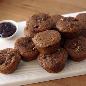 Carrot Apple Ginger Muffins