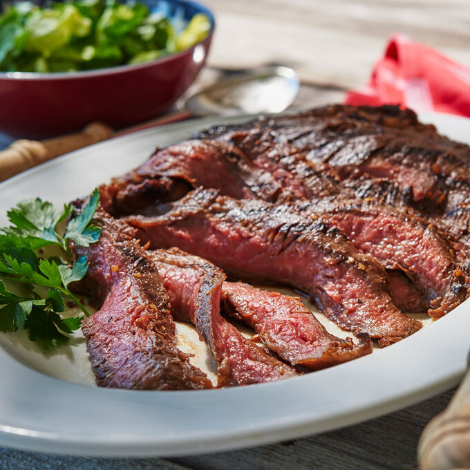 Grilled Coffee-Marinated Flank Steak