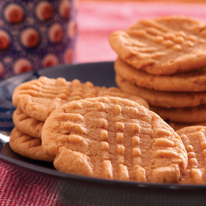 Classic Crosshatch Peanut Butter Cookies