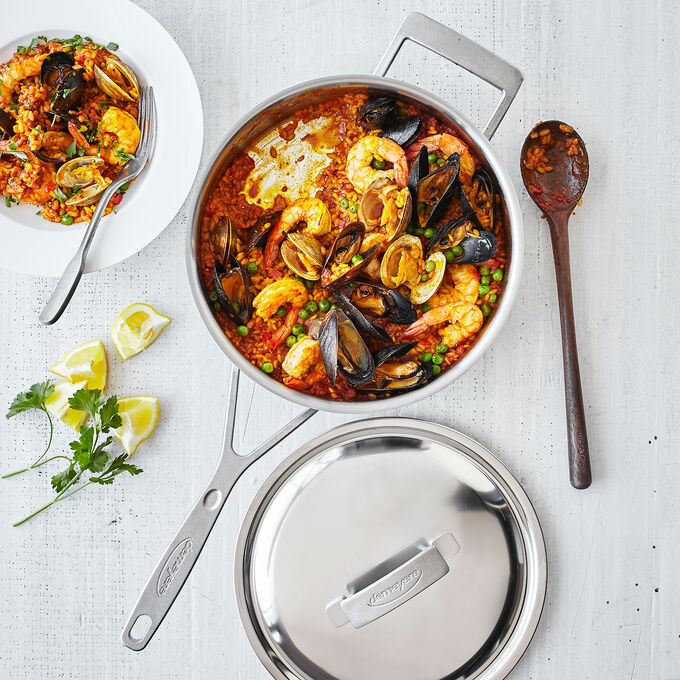 Paella Mixta (with Shellfish)
