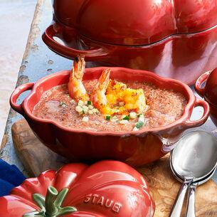 Grilled Shrimp Gazpacho