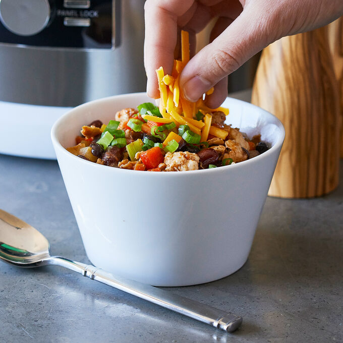 Ground Chicken and Bean Chili
