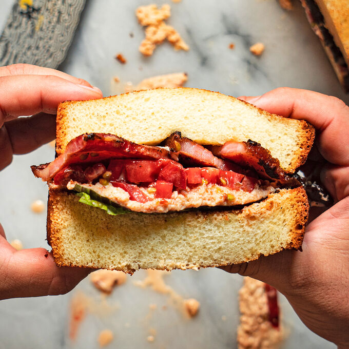 Crab BLT Sandwich