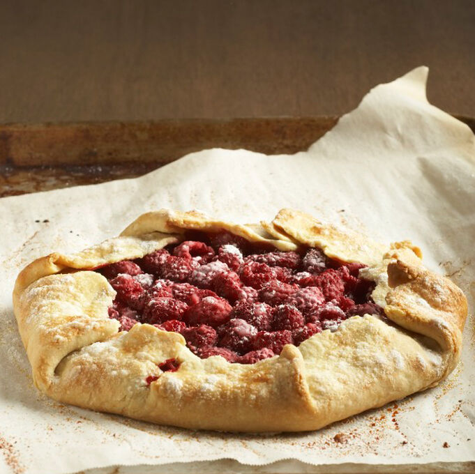 Rustic Raspberry Tart with Irish Butter Crust
