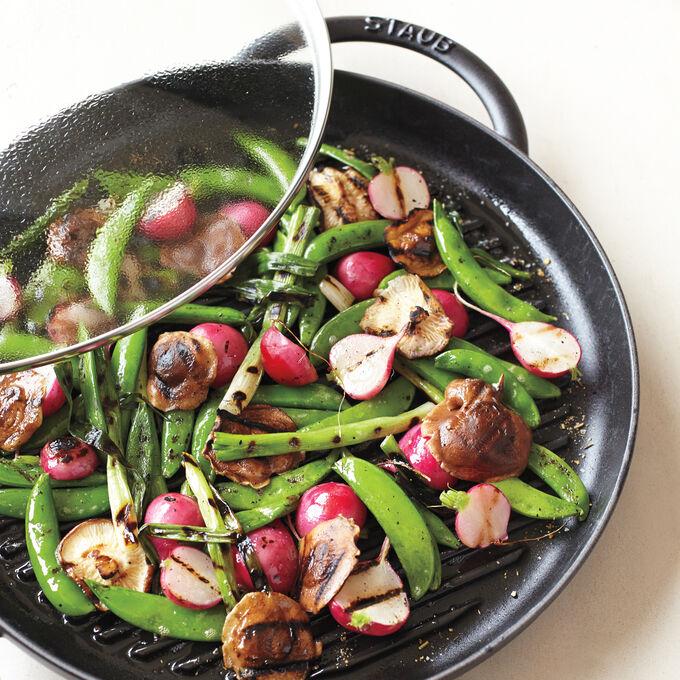 Steam-Grilled Spring Vegetables