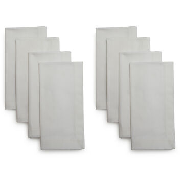 Herringbone Napkins, Set of Eight