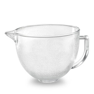 KitchenAid® Hammered Glass Bowl, 5 qt.