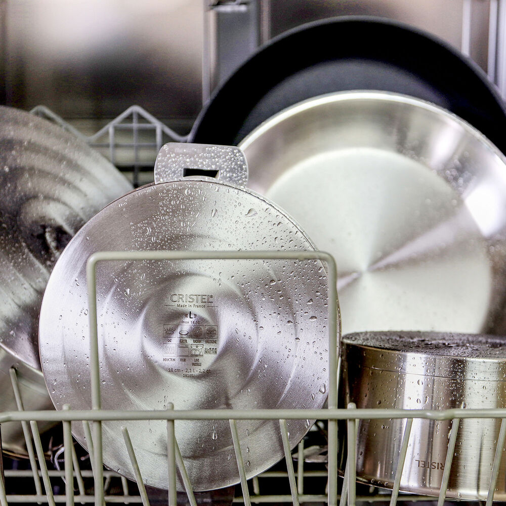 Cristel Strate 11-Piece Cookware Set